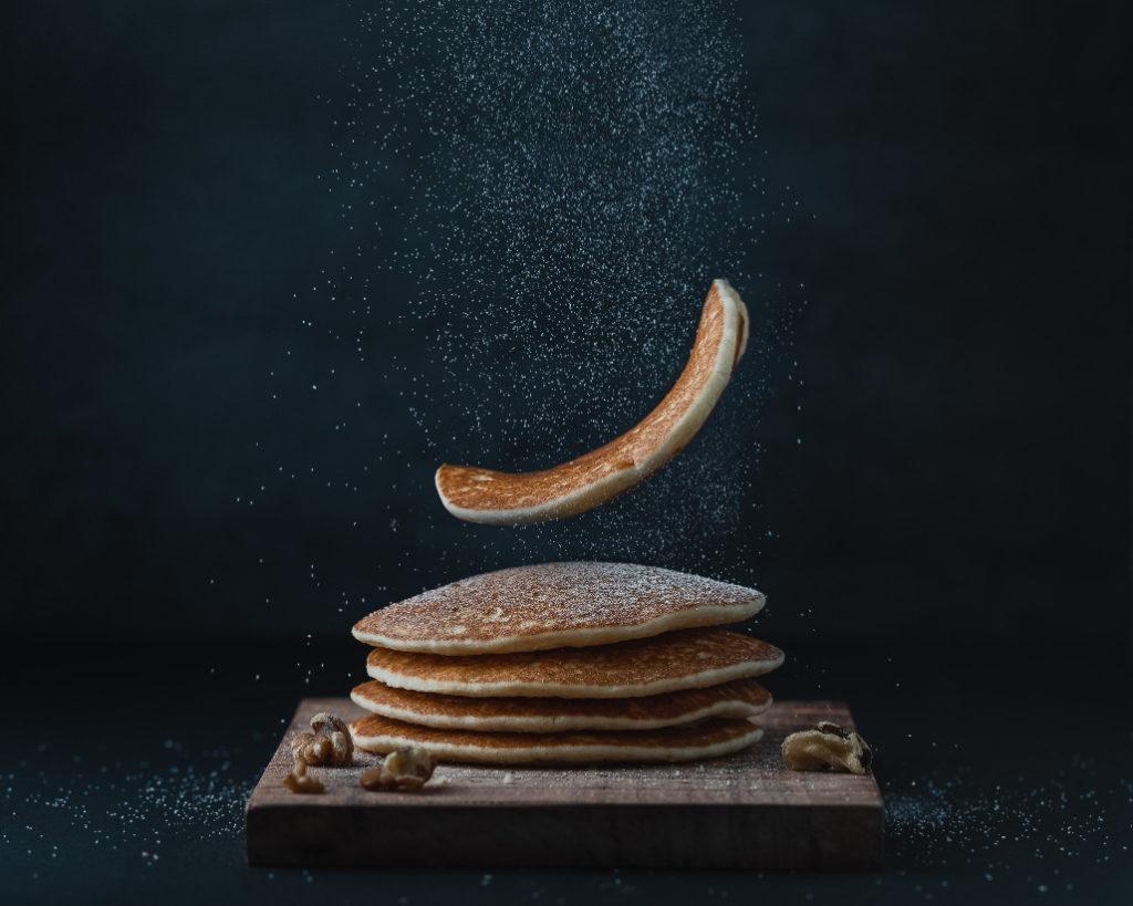 Pancakes. Sie unterscheiden sich wohl am deutlichsten von den europäischen Varianten